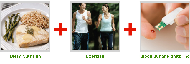 Online Diabetes Nutrition Counseling | Diabetes Exercise | Diabetes Blood Sugar Monitoring